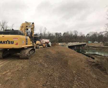 McCurtain County New Bridge Construction