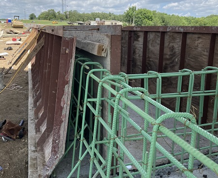 Pittsburg County Bridge Reinforced Concrete